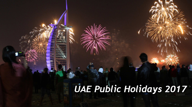 UAE Public Holidays in 2017